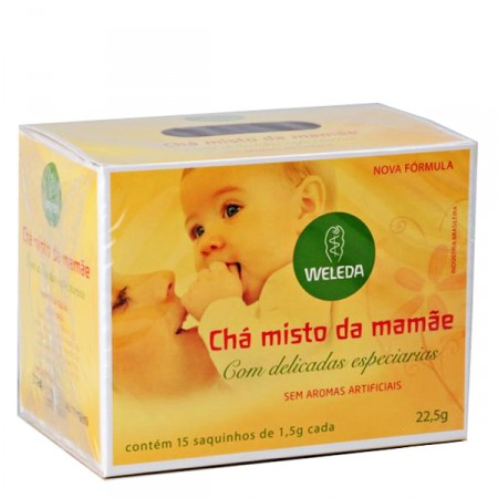 cha da mamae weleda leite materno