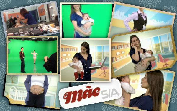 Figuração no quadro Mãe S/A (Fantástico/TV Globo)