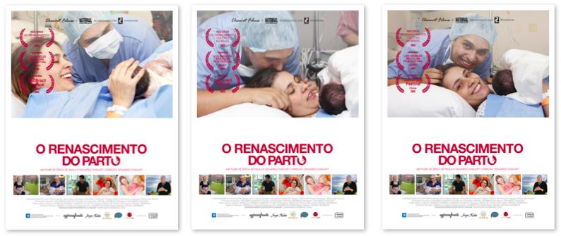 cartaz personalizado o renascimento do parto