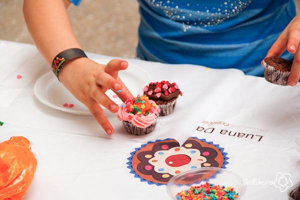 Oficina de Cupcakes da Luana | Foto: Natália Toledo