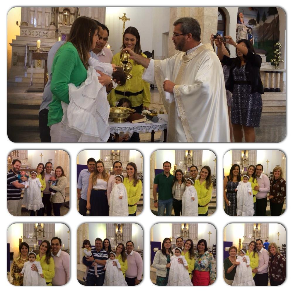 Batizado Clara igreja são José