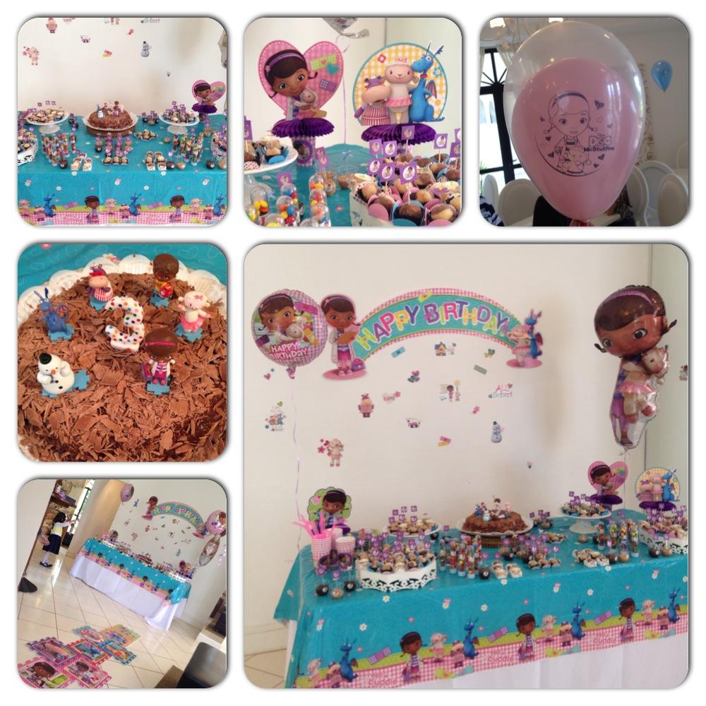 Festa Doutora brinquedos Doc McStuffins