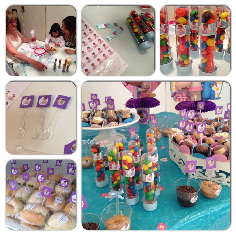 Tags para doces - faça você mesmo - festa - doutora brinquedos