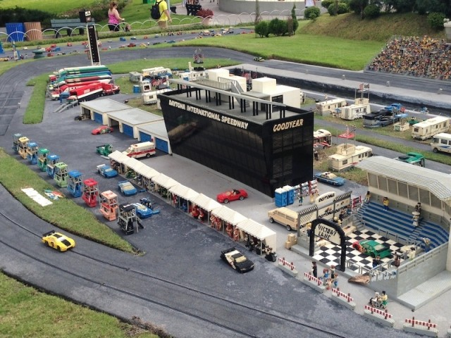LegoLand Miniland Daytona Speedway