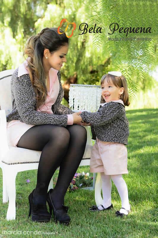 bela pequena moda infantil tal mãe tal filha 4