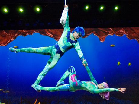 A'lure - Peça do Cirque Du Soleil no Sea World