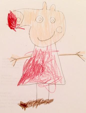 Desenho Peppa Grendene Kids