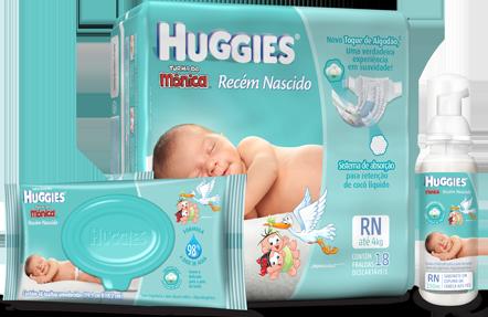 Huggins Linha Recém-nascido