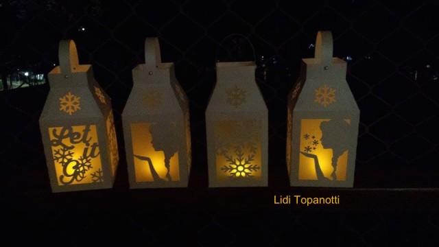 lanternas festa frozen papelaria