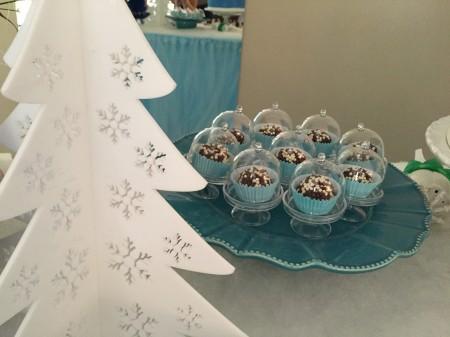 Mini-cúpulas para doces, trufas e bombons