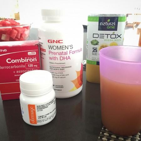 Vitaminas: Pre-ntatal da GNC (EUA). Combiron, Vit D.
