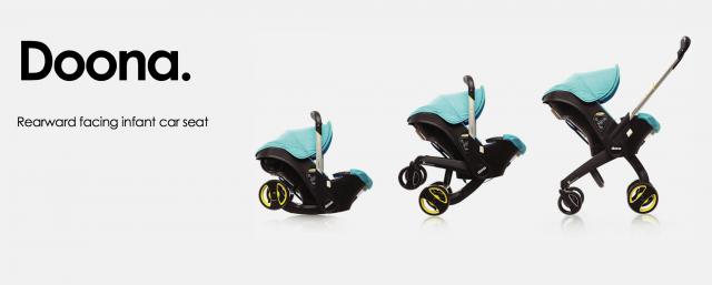 cadeirinha bebê-conforto com rodinhas Doona