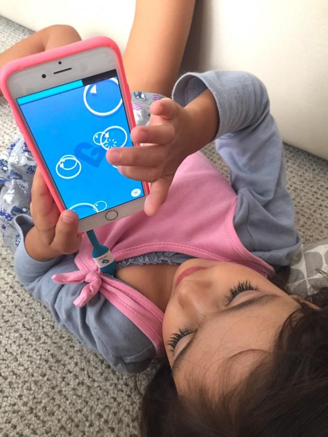 App Interativo para distrair as crianças