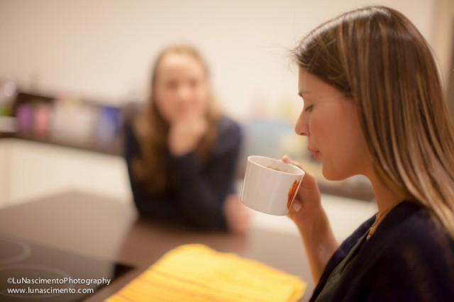 Chá de maça com canela da mamãe