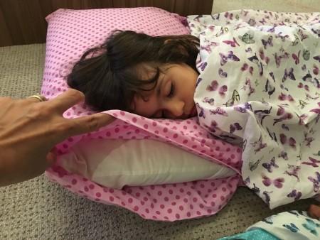Capa para travesseiro saco de dormir