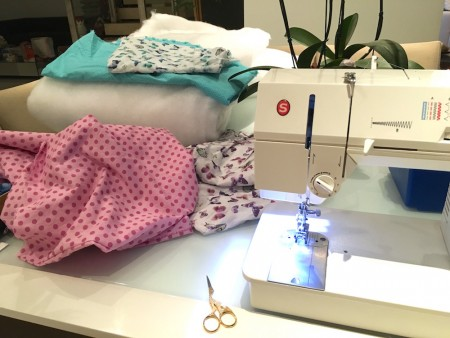 saco de dormir diy costura material