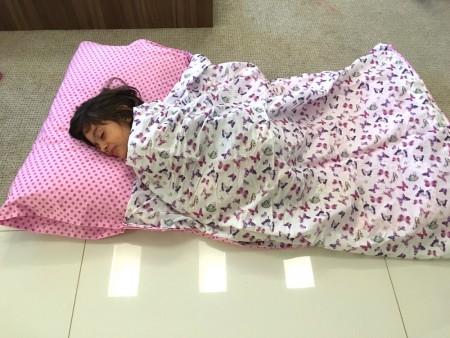 saco de dormir feito em casa