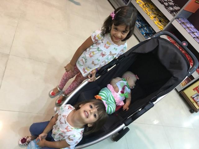 roupas confortáveis viagem em família
