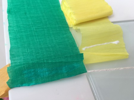 festa frozen fever cortina de papel