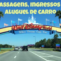 passagens ingressos da Disney carro na florida