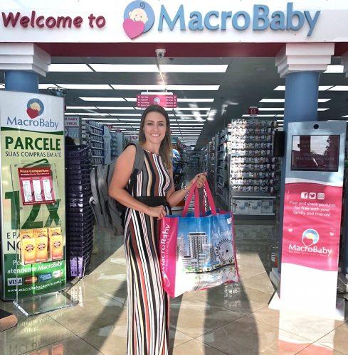 enxoval do bebe nos EUA parcelado Macrobaby