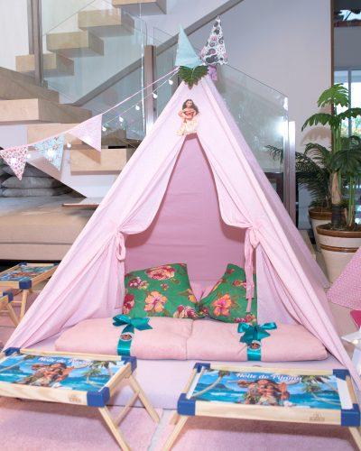 cabana festa do pijama