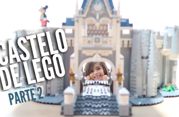 castelo da disney castle LEGO